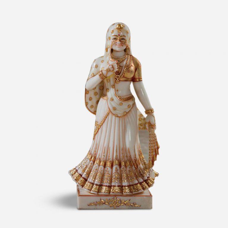 Rajasthani Handicrafts Royal Indian Lady