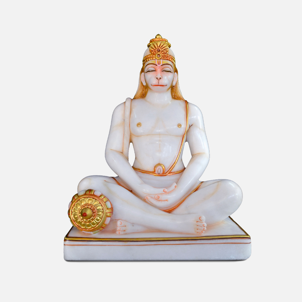Ramayan Hanuman Ji Marble Murti