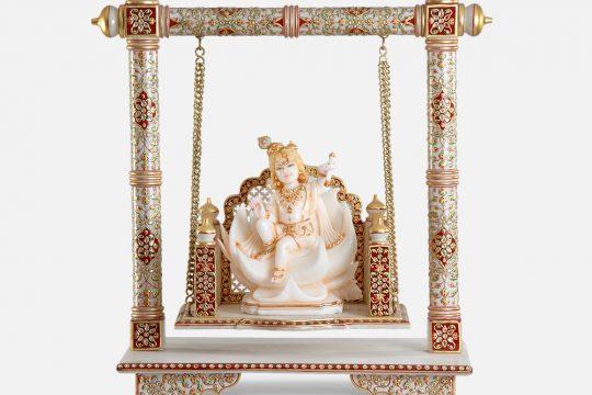 Bal Krishna On Jhula