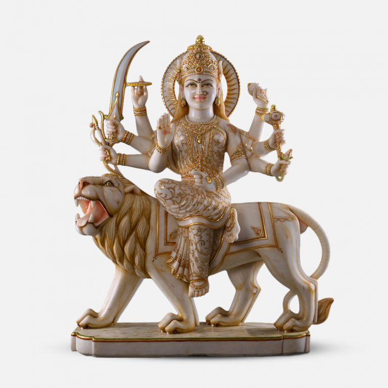 Durga Maa Marble Murti