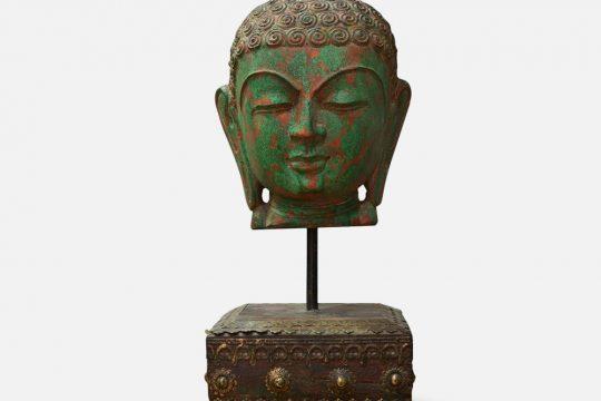 Buddha Bust Stone Sculpture
