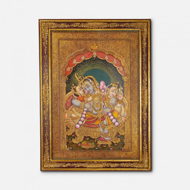 Swarn Krishna Painting