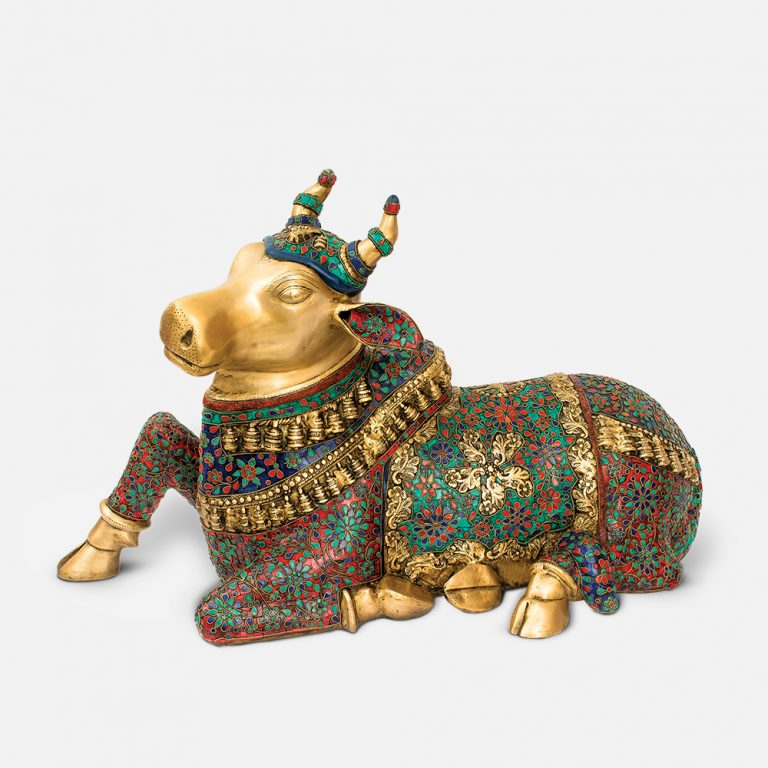 Guardian Nandi Brass Murti