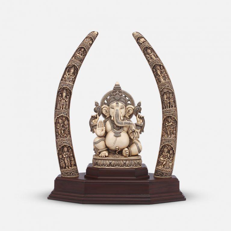 Marble Ganesha Darshan
