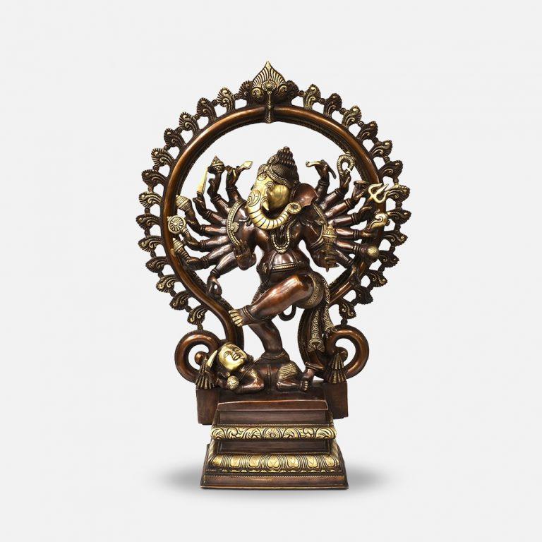 Brass Ganesh ji Murti